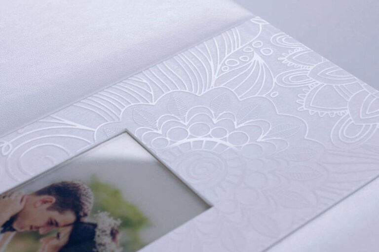 Biał Dama Elegancki foto album